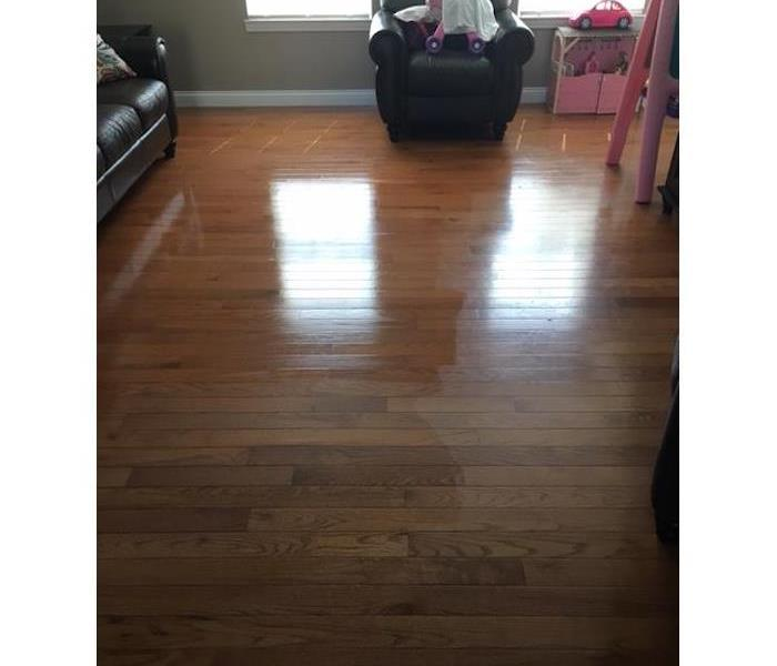 Cleaning of Hardwood Floor Before