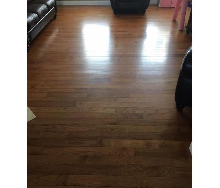 Cleaning of Hardwood Floor After
